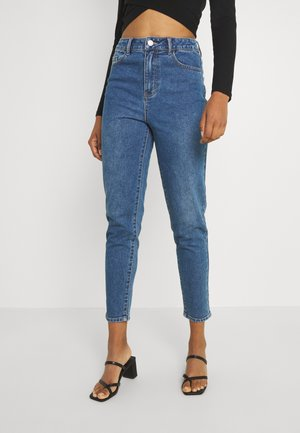 VIMOMMIE MOM - Slim fit -farkut - medium blue denim