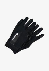 Nike Performance - ACADEMY HYPERWARM - Gloves - black/white/white - 2