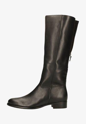 Boots - schwarz (glitter)