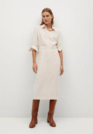 LEA-I - Košilové šaty - ecru