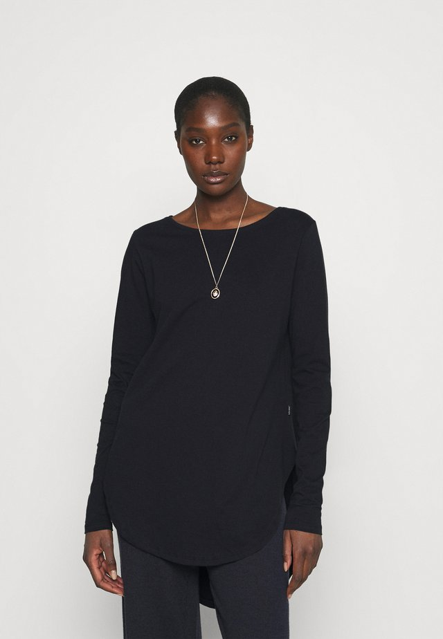 LONG SLEEVE TEARDROP TEE - Long sleeved top - midnight