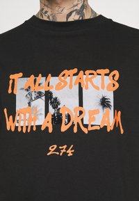 274 - DREAM TEE - Print T-shirt - black - 4