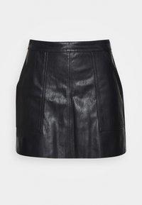 VMSYLVIA SHORT SKIRT - Mini skirt - black