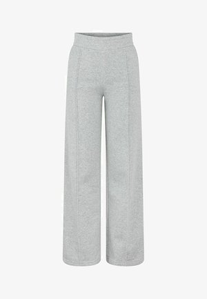 PCMCHILLI - Tracksuit bottoms - light grey melange