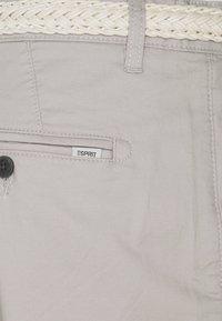 Esprit - Shorts - light grey - 2
