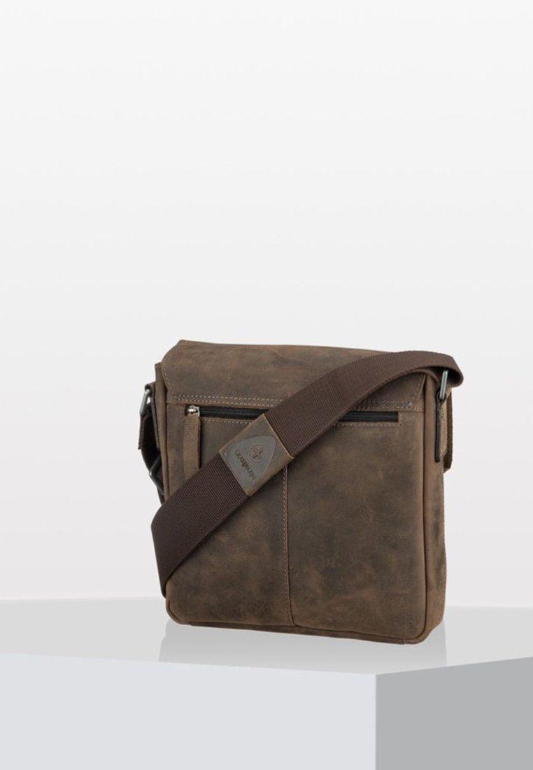 Strellson - HUNTER - Across body bag - dark brown