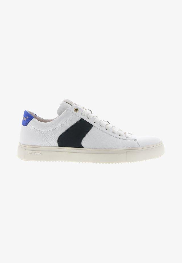 Sneakers - white navy