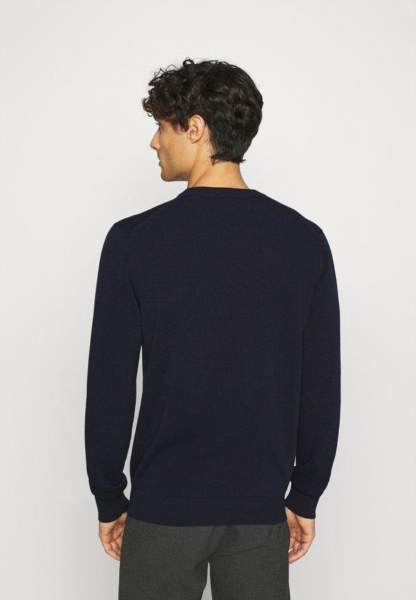 Lacoste Sweter - navy blue/granatowy Odzież Męska KWYQ