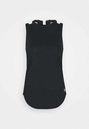 SPORT 2 STRAP TANK - Sports shirt - black