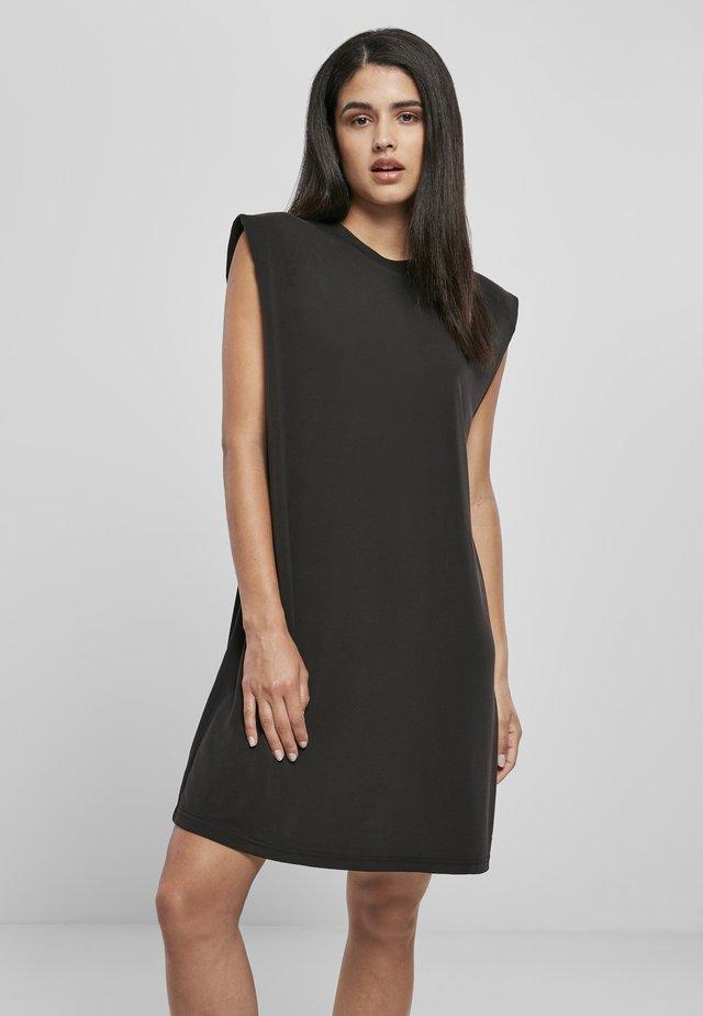 Korte jurk - schwarz