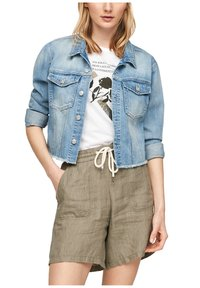 s.Oliver - Denim jacket - light blue - 4