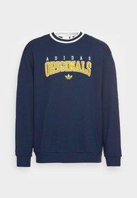 adidas Originals - SCRIPT CREW - Sweatshirt - navy - 3