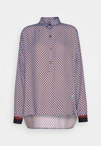 Emily van den Bergh - Button-down blouse - brown/bleu - 4