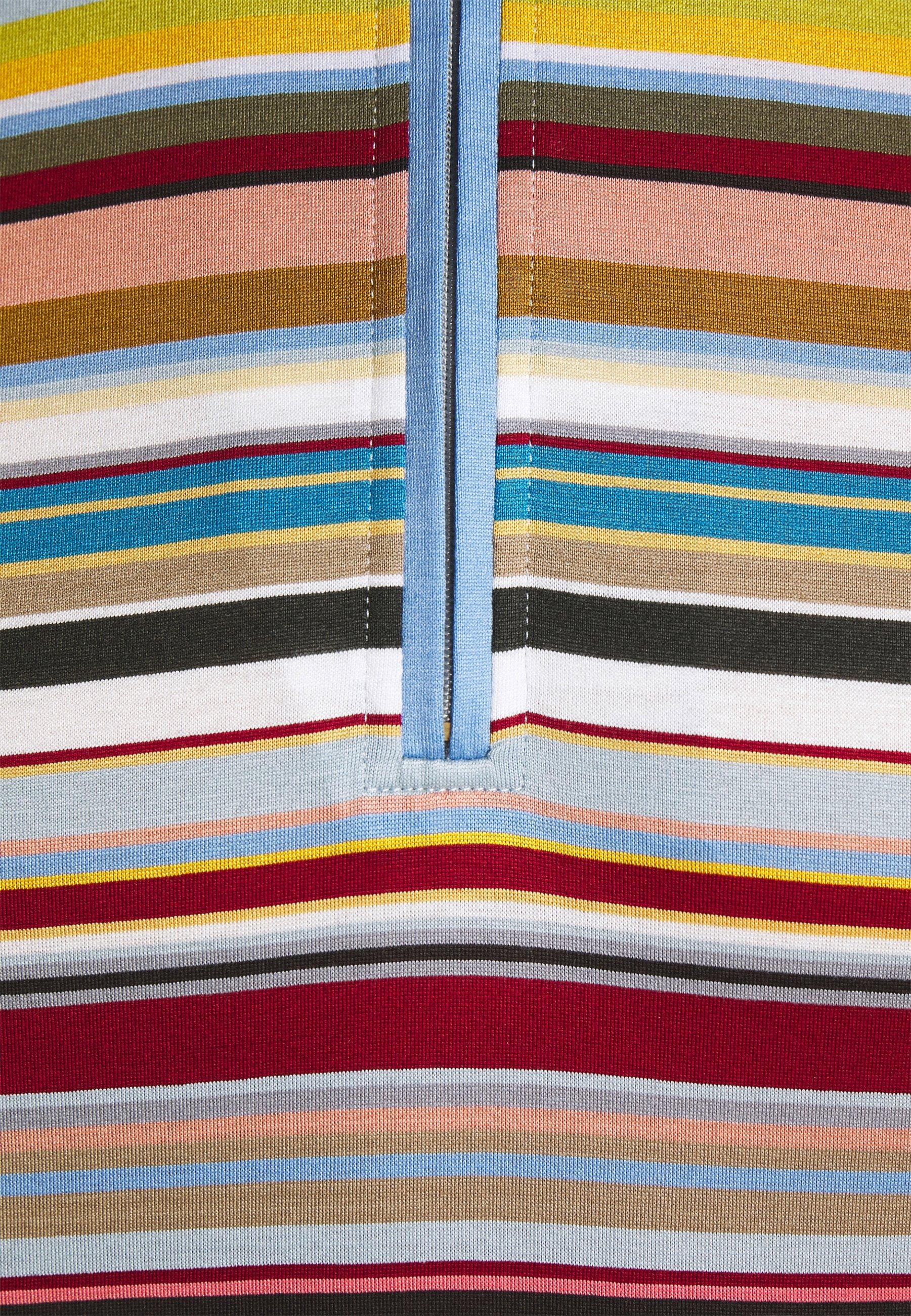 Men ZIP NECK - Long sleeved top
