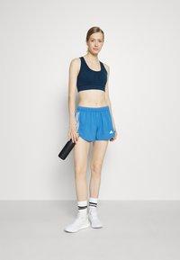 adidas Performance - RUN IT SHORT - Sports shorts - focus blue/white - 1