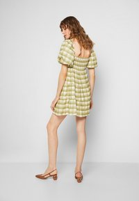 Faithfull the brand - LEILANI MINI DRESS - Denní šaty - ligne/olive - 3