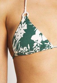 watercult - INSIDE NOSTALGIA - Bikini top - ivy/cream - 5