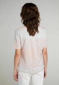 Oui - Print T-shirt - rose orange - 2