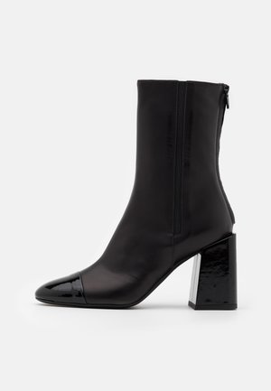 BLOCK BOOT  - High heeled ankle boots - nero