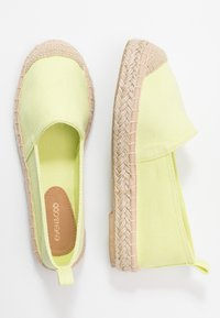 Even&Odd - Espadrilles - light yellow - 3