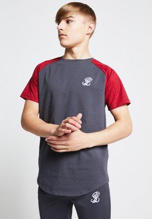 Camiseta estampada - grey/pink