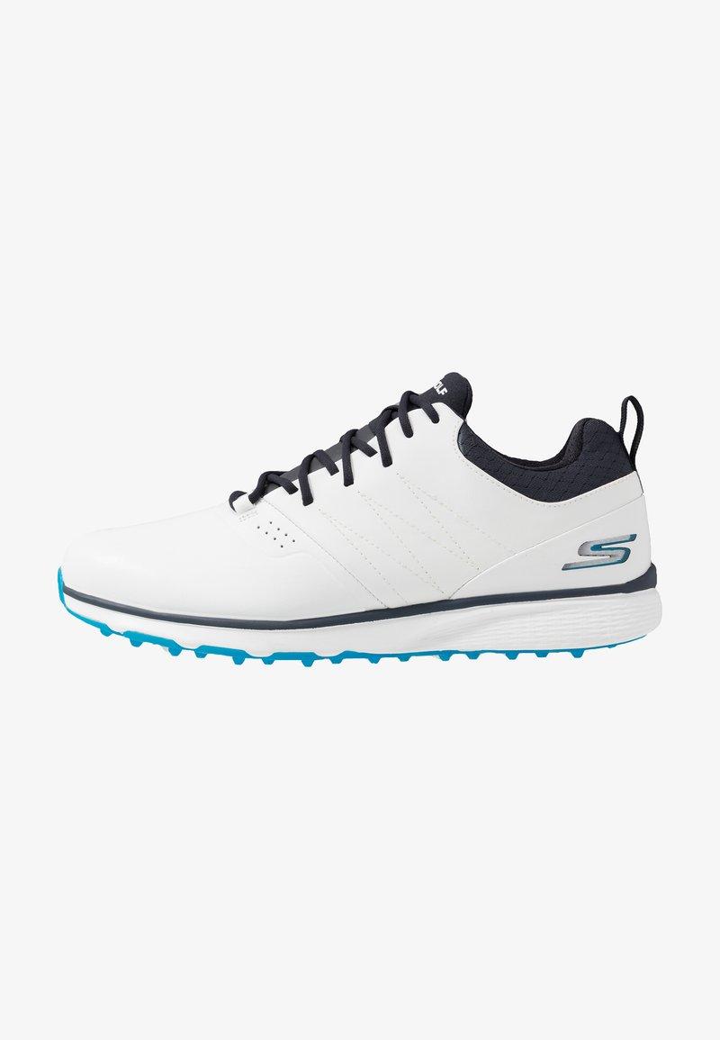 Skechers Performance - MOJO ELITE PUNCH SHOT - Golfsko - white/blue