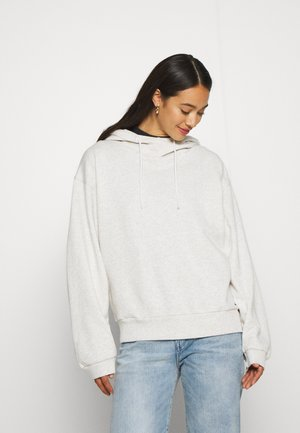JASMAR HOODED SW WMN S/S - Hoodie - milk heather