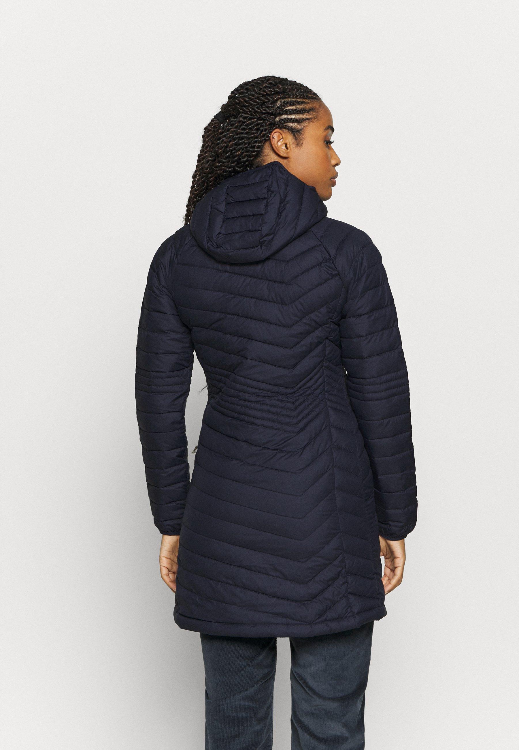 Columbia POWDER LITE MID JACKET - Winter coat - dark nocturnal 7efPZ