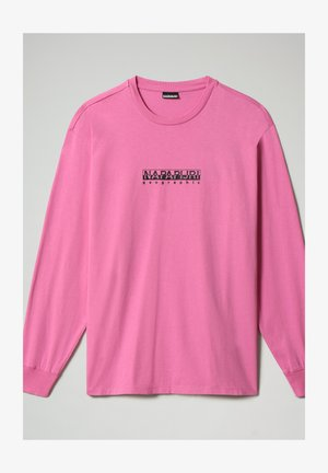 S-BOX LS - Long sleeved top - pink super