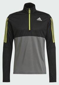 adidas Performance - OWN THE 1/2 RESPONSE PRIMEGREEN RUNNING PULLOVER SWEATSHIRT - Sweatshirt - grey - 7