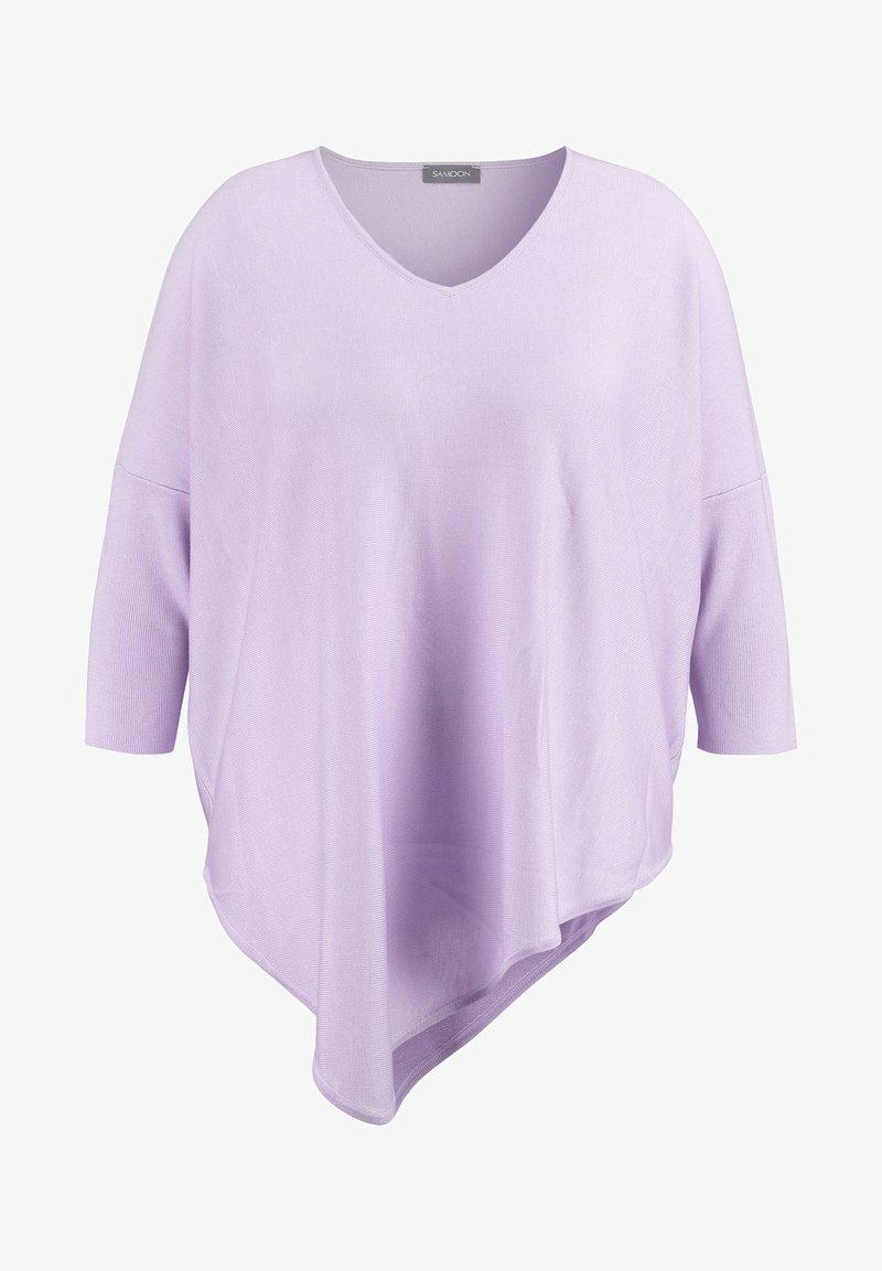 Samoon - MIT ASYMMETRI - Jumper - pastel lilac