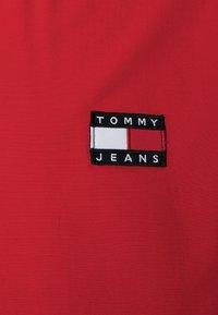 Tommy Jeans - POPOVER JACKET UNISEX - Summer jacket - deep crimson - 2