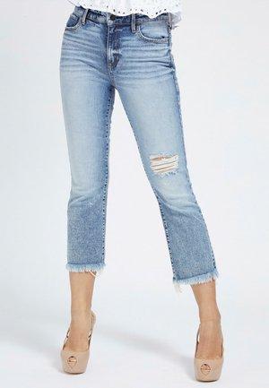 AUSGESTELLTER SAUM - Slim fit jeans - himmelblau