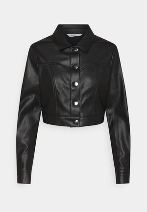 ONLWESTA  - Faux leather jacket - black