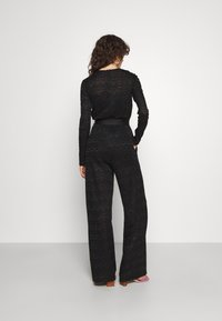 M Missoni - LONG OVERALLS - Jumpsuit - black - 2