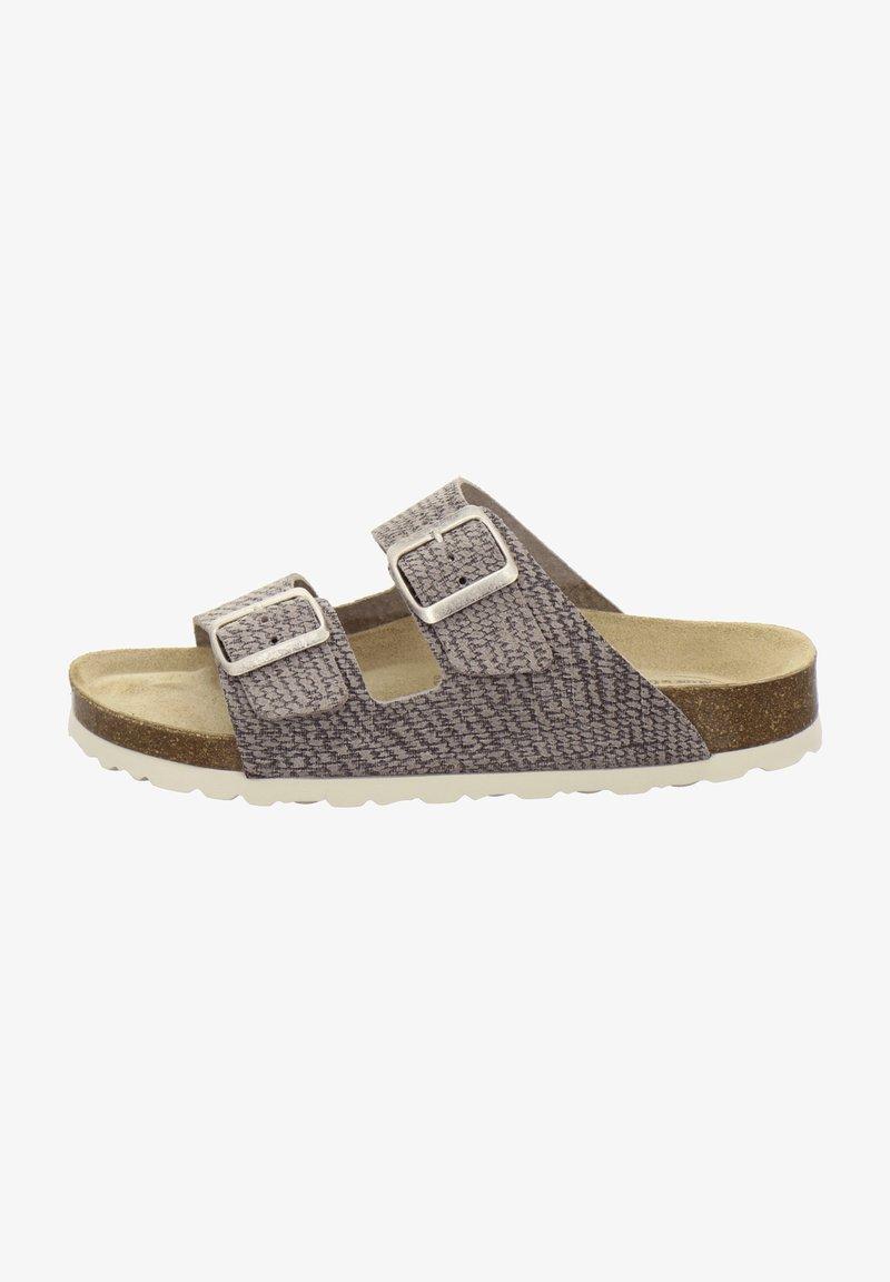 AFS Schuhe - ZWEISCHNALLER - Slippers - sand