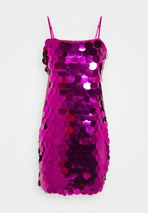 ELLIA MINI DRESS - Cocktail dress / Party dress - magenta