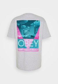 Obey Clothing - CONFORMITY STANDARDS - Printtipaita - heather grey - 1