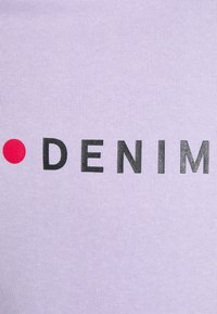 Denim Project - LOGO HOODIE - Bluza z kapturem - pastel lilac - 2