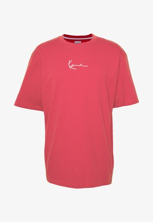 UNISEX SIGNATURE TEE - T-shirt con stampa - red