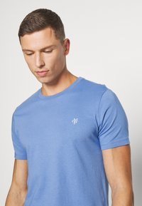 Marc O'Polo - SHORT SLEEVE COLLA - Basic T-shirt - riviera - 3