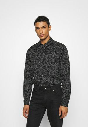 CHEMISE - Shirt - black / white