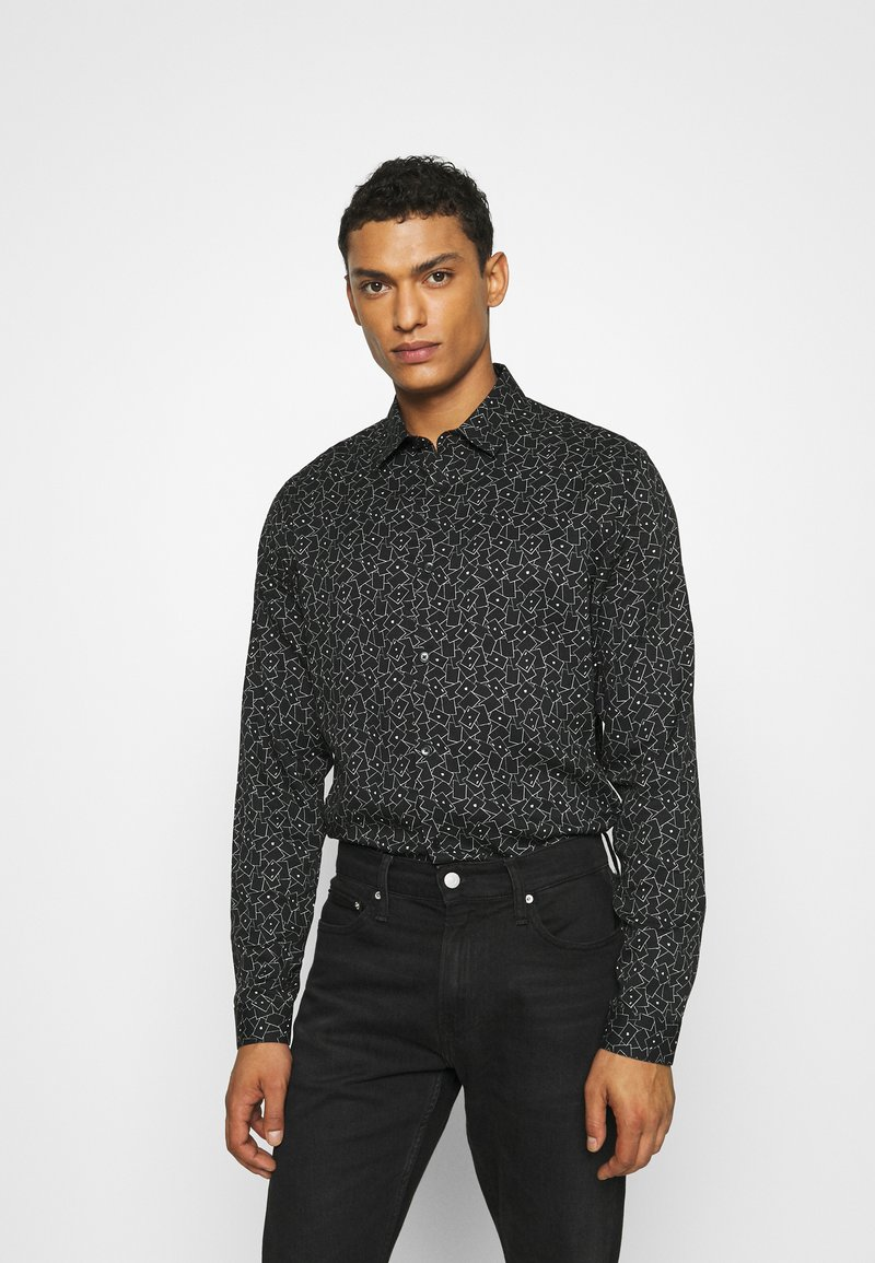 The Kooples - CHEMISE - Shirt - black / white