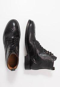 Hudson London - SHERWOOD - Lace-up ankle boots - black - 1