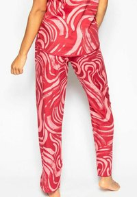 Cyberjammies - KRISTEN  - Pyjama bottoms - red spiral - 2