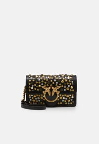Pinko - LOVE BABY ICON NEW STUDS VINTAGE - Schoudertas - black - 3