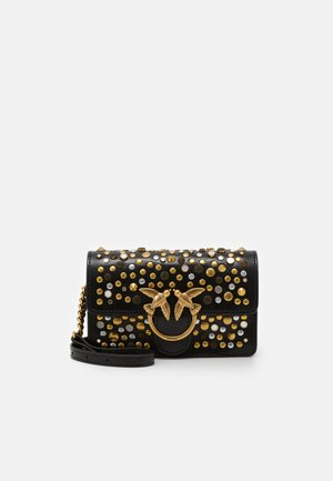 LOVE BABY ICON NEW STUDS VINTAGE - Torba na ramię - black