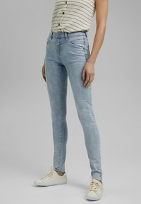 Esprit - Jeans Skinny Fit - blue bleached - 0