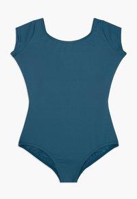 Capezio - BALLET CAP SLEEVE - trikot na gymnastiku - indigo - 0