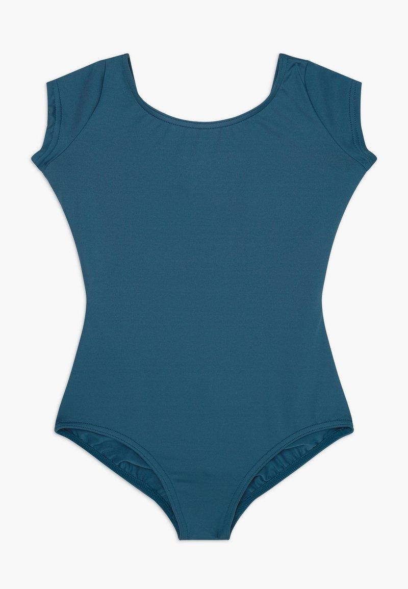 Capezio - BALLET CAP SLEEVE - trikot na gymnastiku - indigo